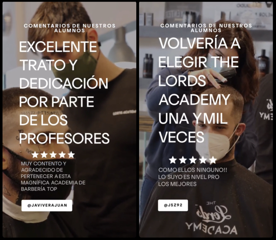 MEJORES ACADEMIAS DE BARBERIA